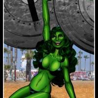She-Hulk - Angel of Venice (Art: John Byrne)