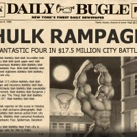 The Daily Bugle: Hulk Rampage
