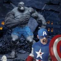 Ultimate Hulk Vs Captain America