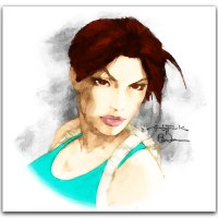 Andy Park Lara Croft Tomb Raider