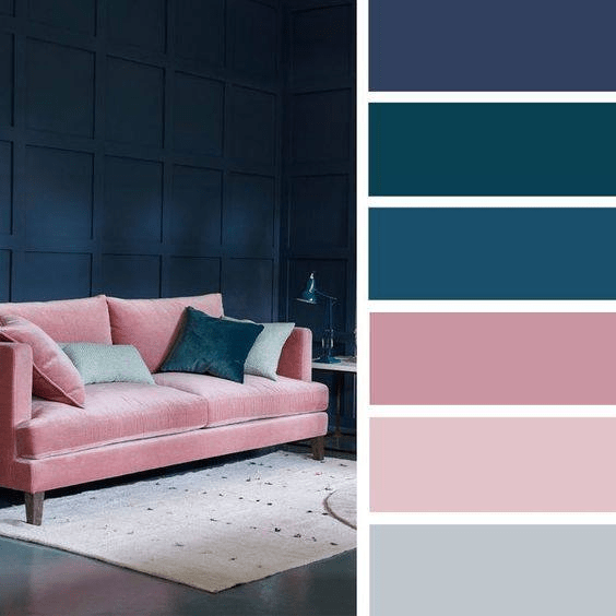 The whole-house paint palette