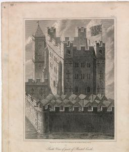 Bristol Castle Keep. Image courtesy of Bristol Library, Braik. VII.i.8