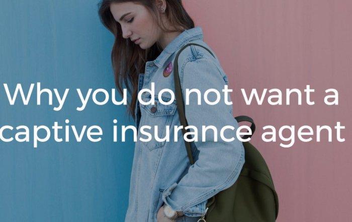 captive insurance agent