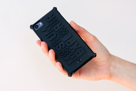 custom made phone case by Local Makers in Amsterdam