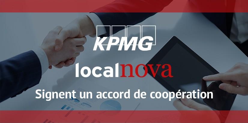 Accord de coopération KPMG Localnova