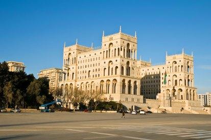 Baku: Regierungsgebäude