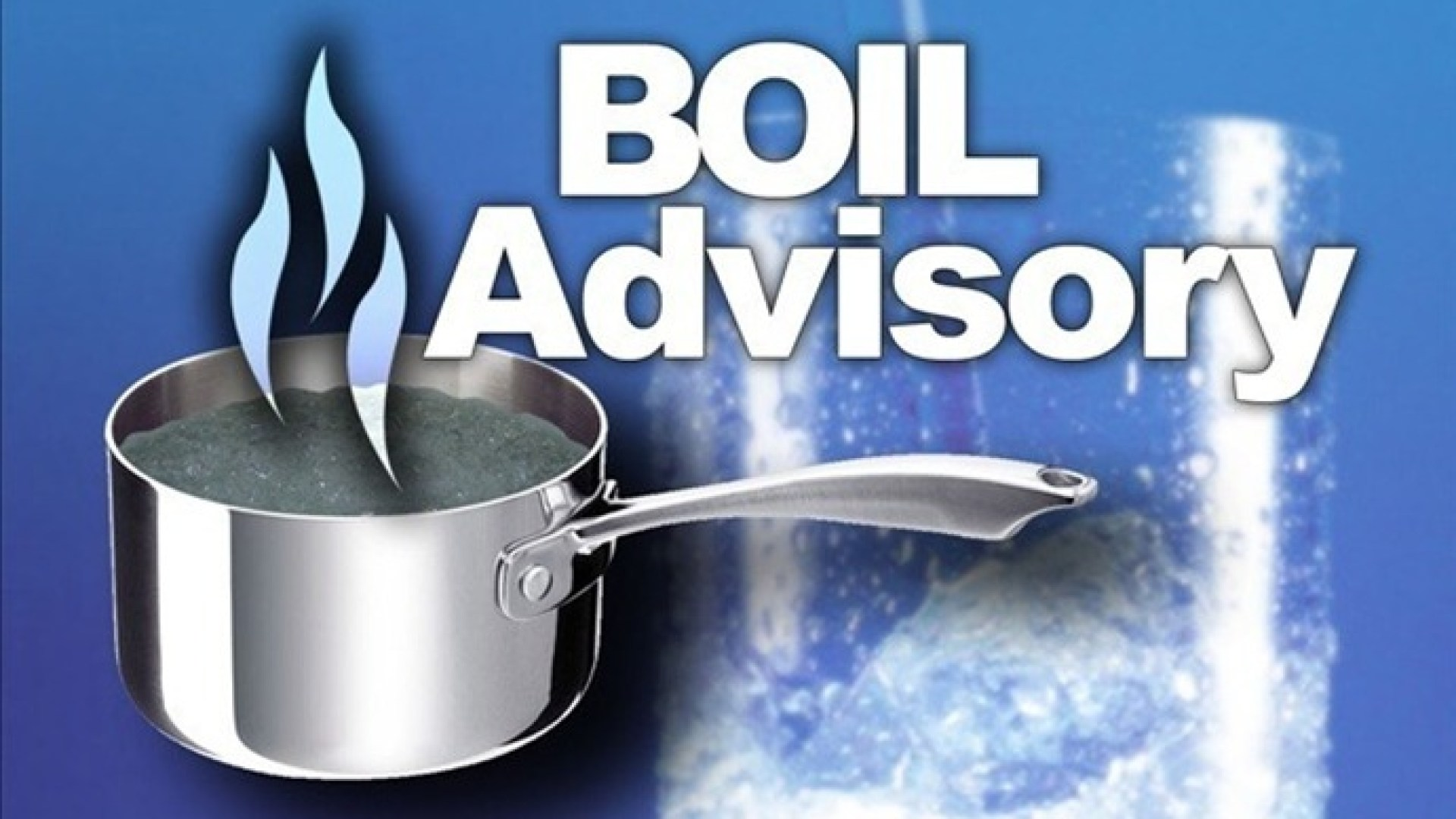 Boil water order issued for Town of Locke