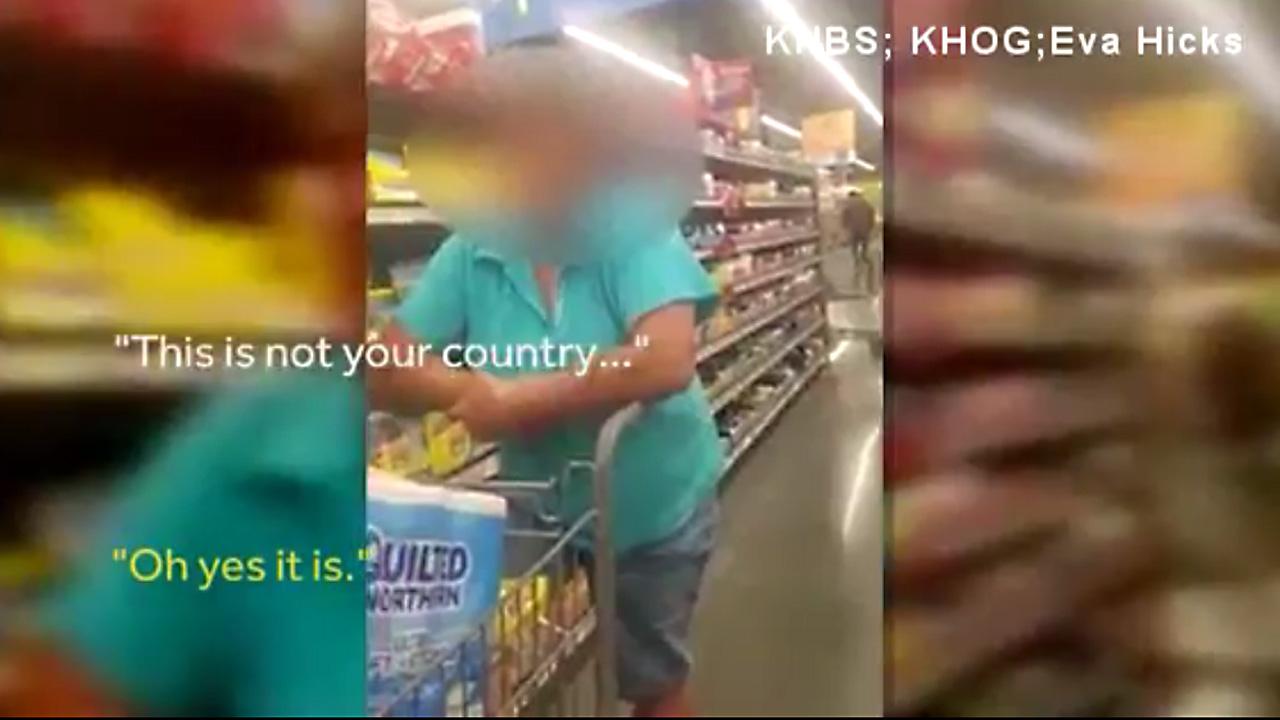 Racist rant 136220500-159532