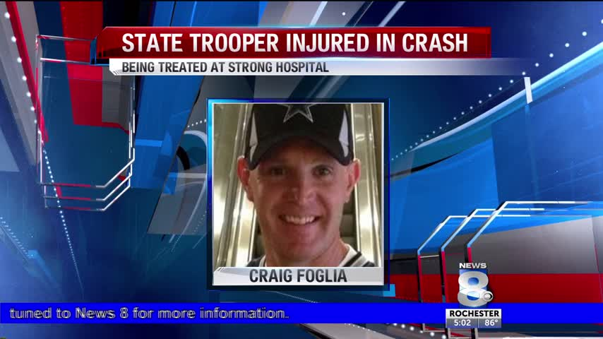 Update on NYS Trooper injured in crash in Steuben County_88918271-118809282