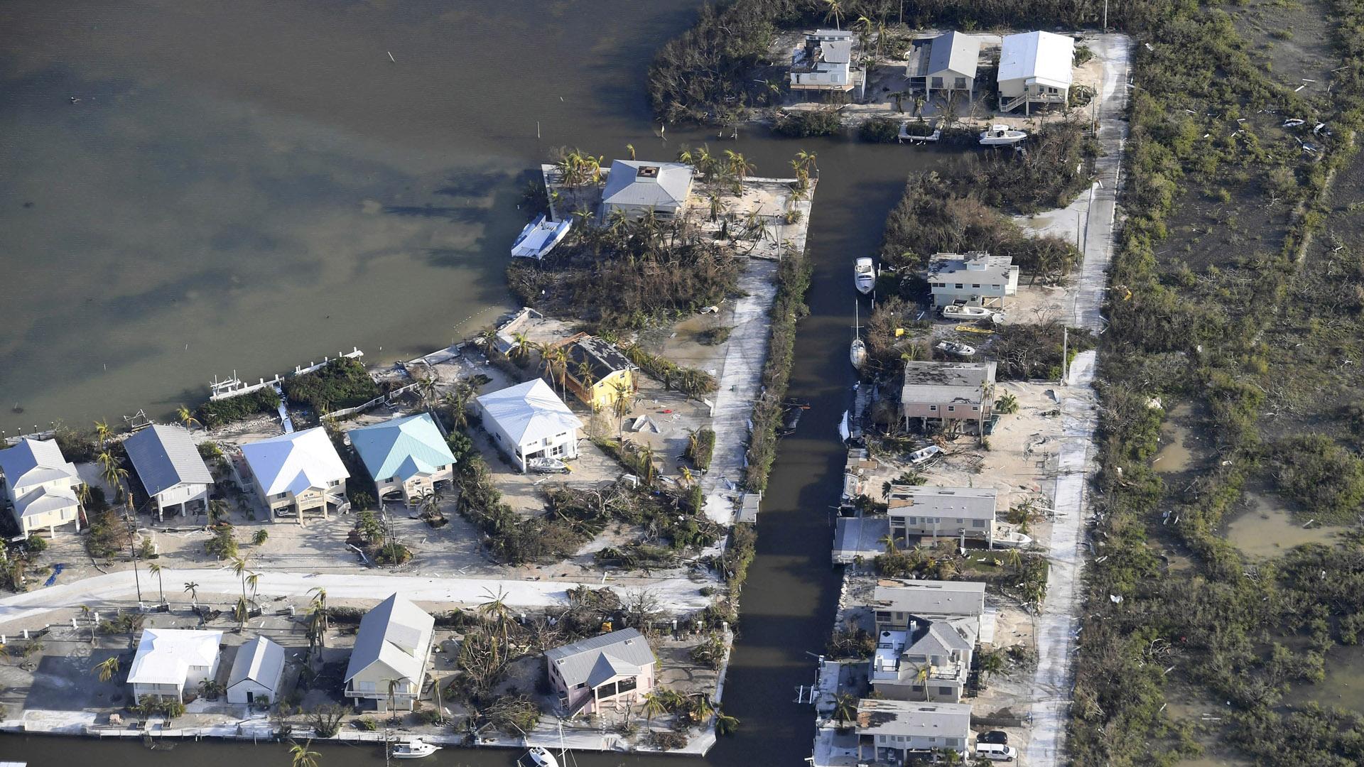 Key West, Florida Keys, damaged houses, Hurricane Irma64196169-159532