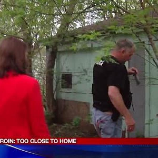 Video_ Backyard drug den exposed by Syracuse Police_-7476718187404571179