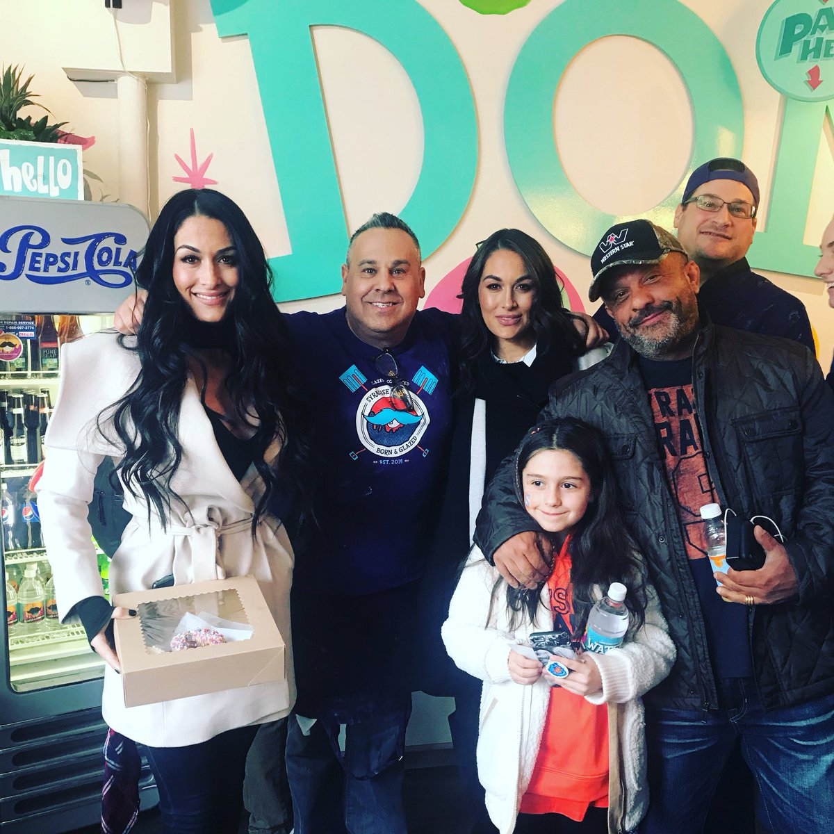 Bella Twins surprise Syracuse shop owner