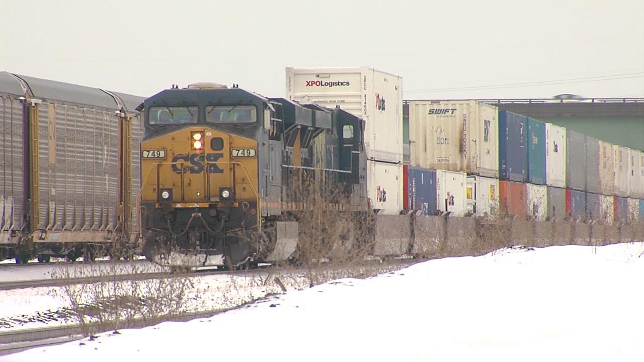 CSX rail yard