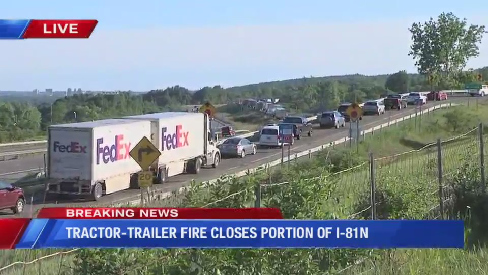 Update: Both lanes of I-81 NB at Nedrow open