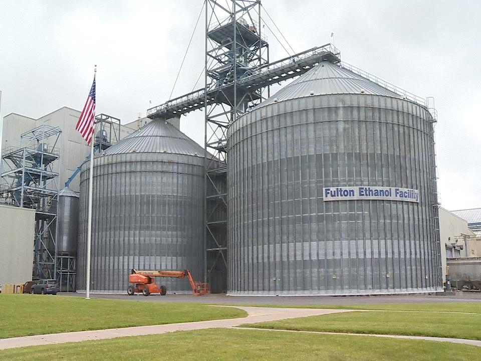Ethanol plant exterior