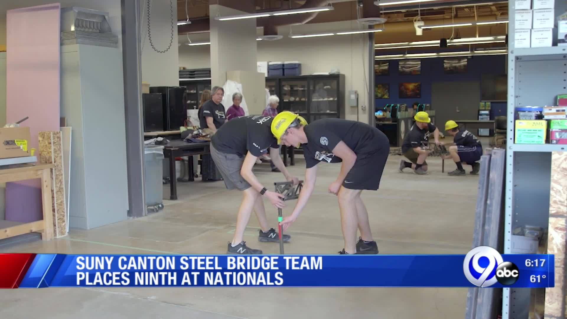 SUNY_Canton_Steel_Bridge_Team_places_9th_7_20190603222914