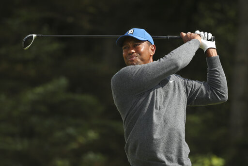 the usual crowd support saw an unusual score for woods