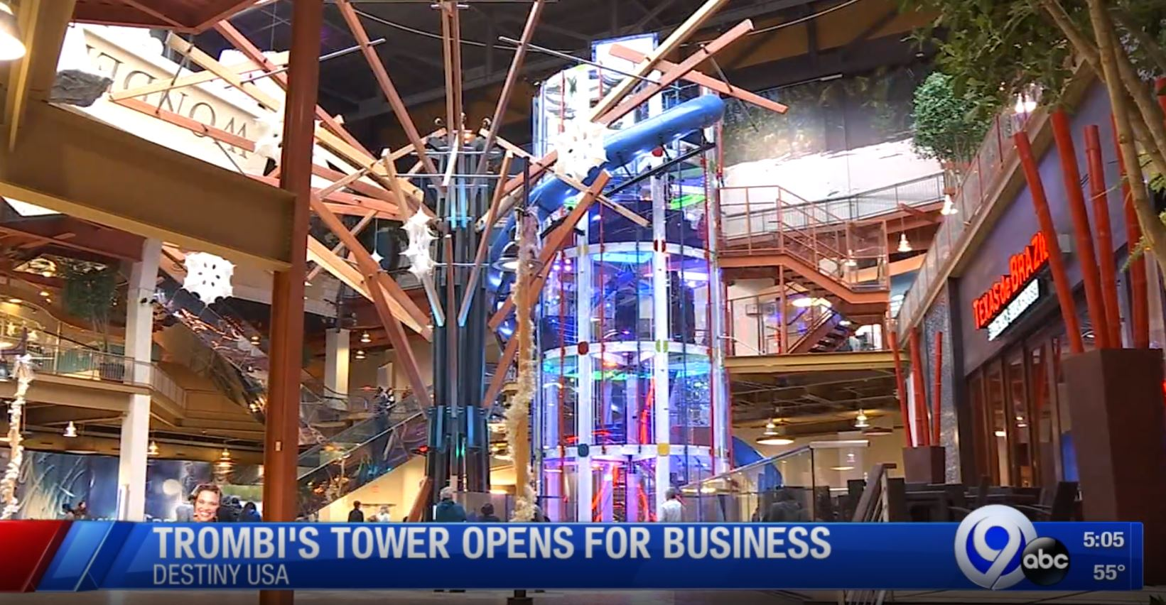 Trombi's Tower: Destiny USA's newest attraction | WSYR on destiny usa floor plan, destiny usa hotel, destiny usa stores, destiny usa interior, destiny usa expansion, us demographic map, destiny usa entertainment, destiny usa restaurants, destiny usa bowling, destiny usa movies, destiny usa syracuse,