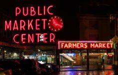 Pike Place Market at Night - localXplore