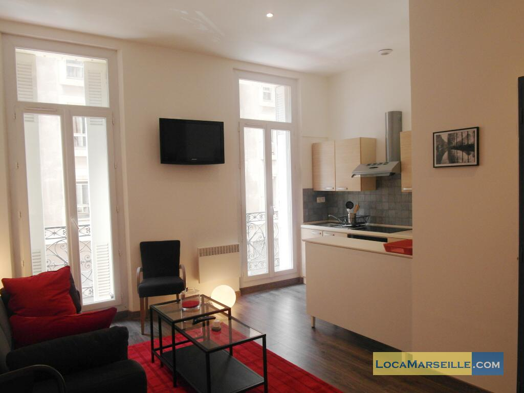 Location meuble Marseille Appartement type t1studio Studio 101