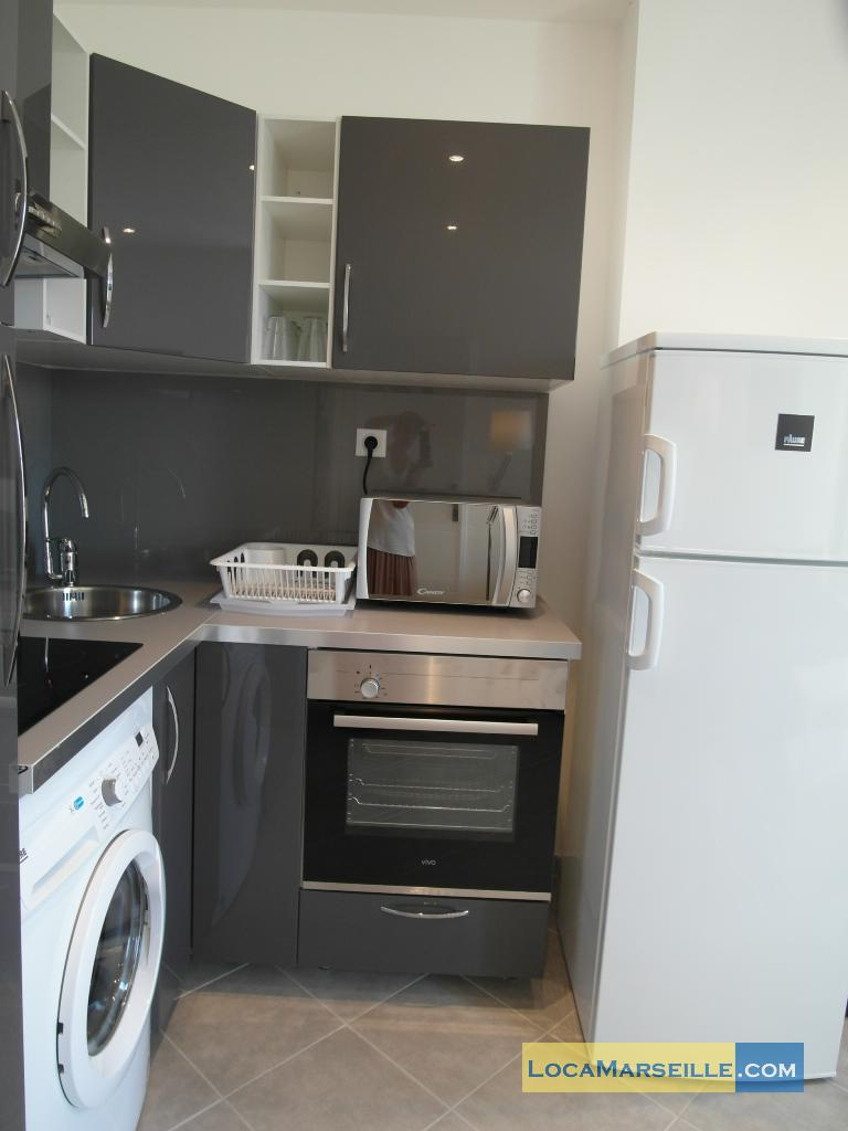 Marseille location meuble Appartement type T2 Phoceens T2