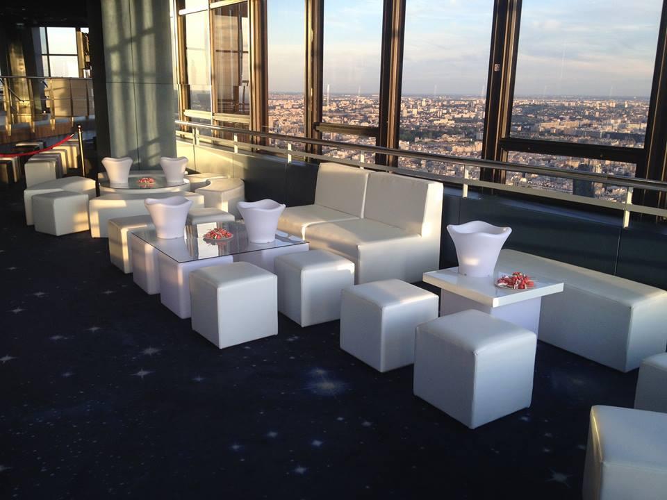 Cration Dun Espace Lounge VIP LEspace 56 PARIS 75