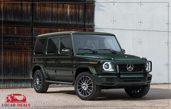 Mercedes-Benz G-Class premium off-road sub