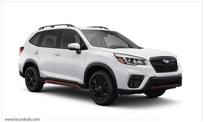 Subaru Forester boxiest design