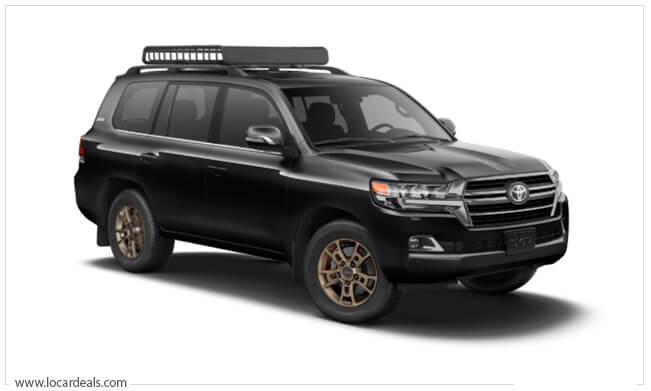 Toyota Land Cruiser Boxy Shaped Car