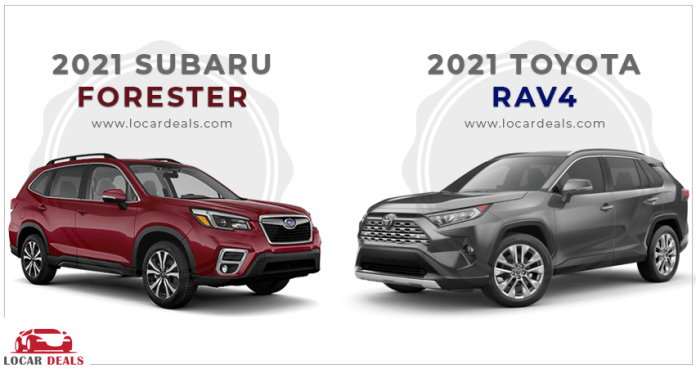 which car is better subaru forester or toyota rav4