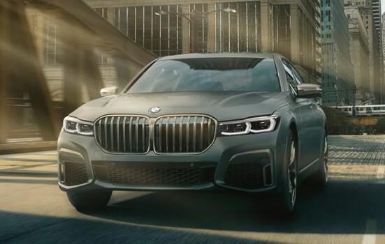 BMW M760i fastest 4 door cars