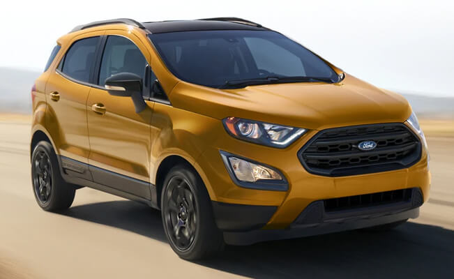 Ford Eco Sport - smallest cars in the world