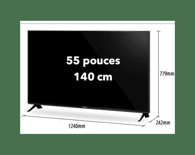 location ecran television led 55 pouces
