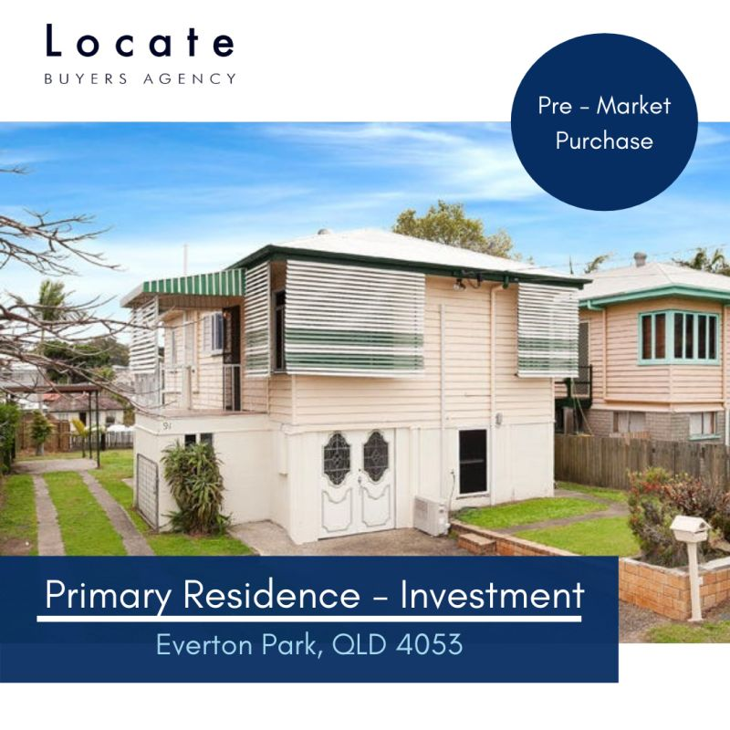 Primary Residence Purchase Coorparoo