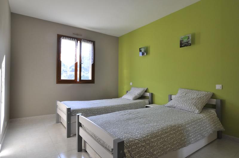 Chambre N 3 de la location en meubl de tourisme  Menton Cte dAzur