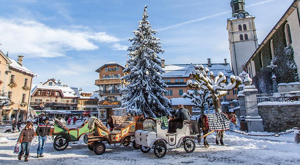 Activits en hiver  Location appartement luxe Megeve Clos des Chozeaux chalet Megve