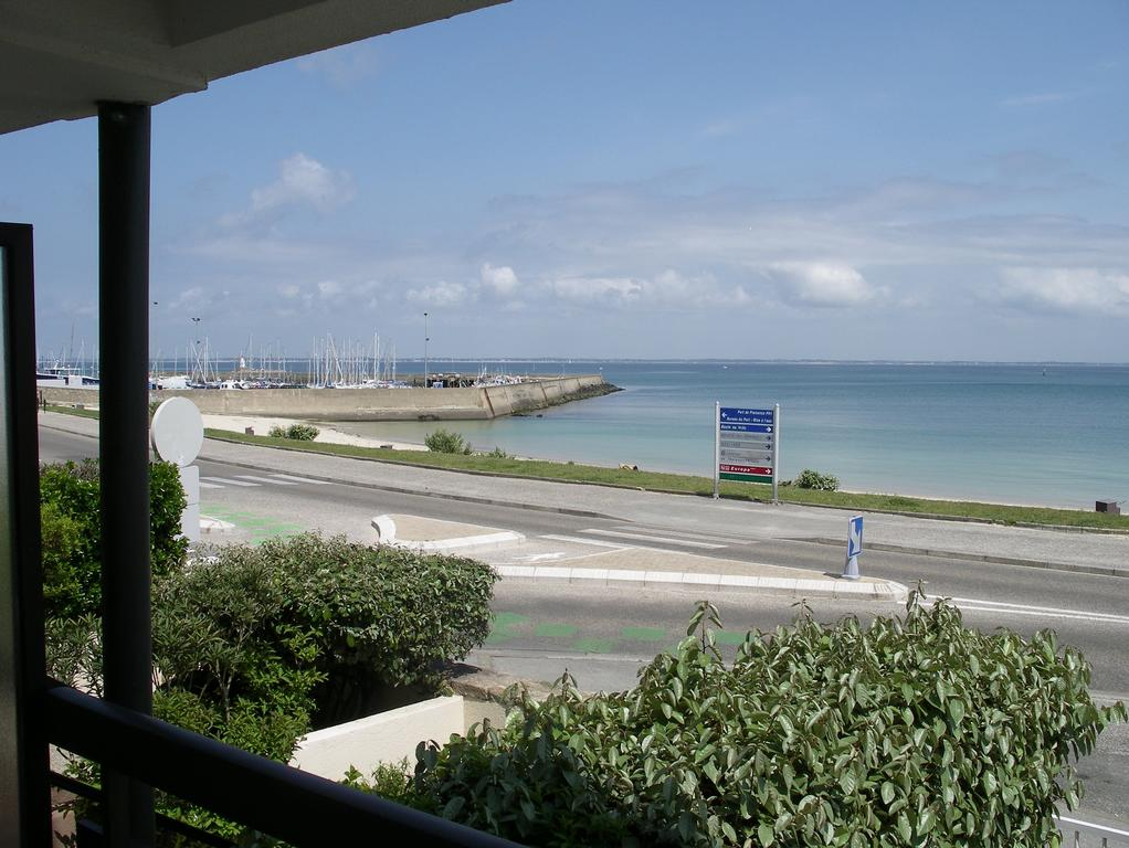 location appartement quiberon vue mer