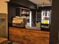 Cafe mit Wohnzimmer