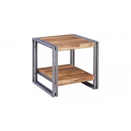 location bout de canape en metal et bois