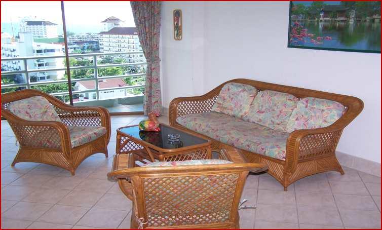location appartement et studio pattaya jomtien view talay