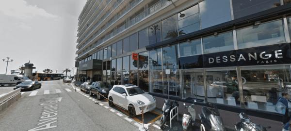 Location SIXT à Nice Hôtel Meridien