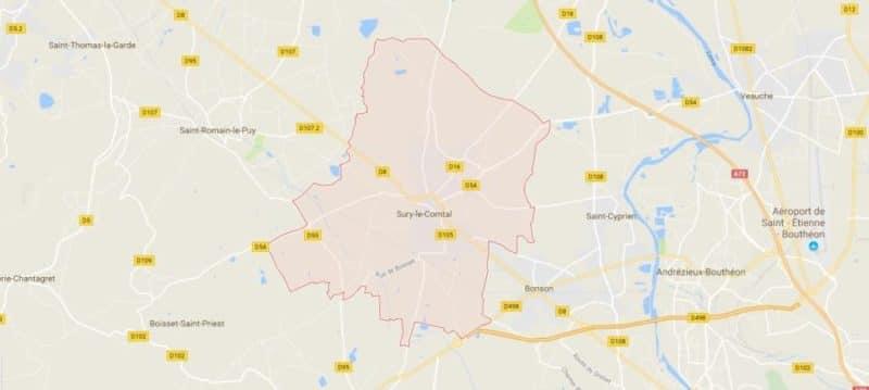 Location Voiture Camion Utilitaire à Sury Le Comtal 42450
