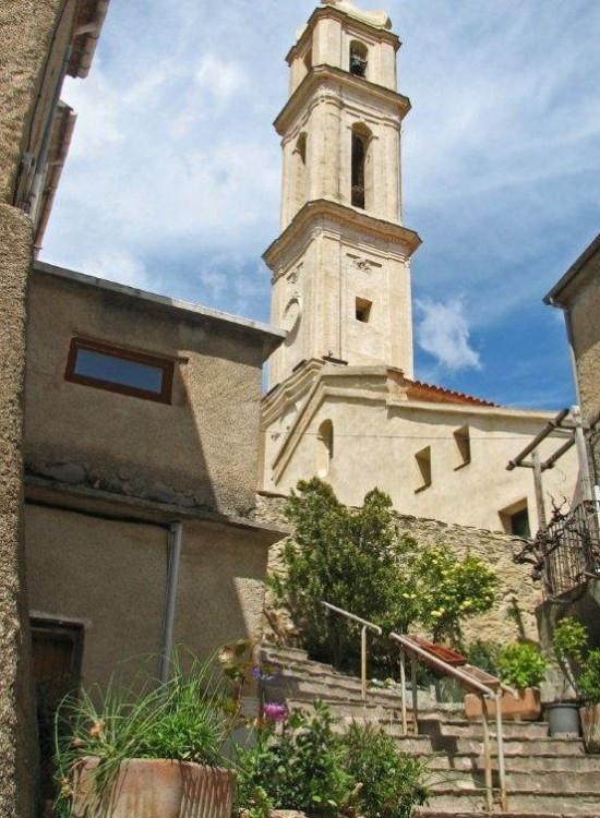 Soveria Village Du Centre Corse La Corse