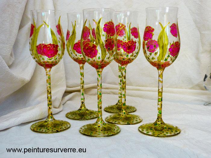 Peinture sur verre en corse  La Corse