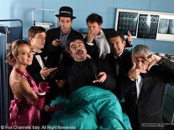 Il cast di Boris 3