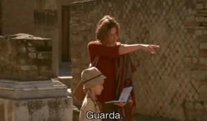 Scena di Un film parlote