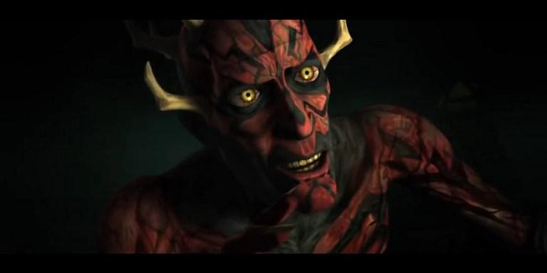 Darth Maul in Clone Wars 4