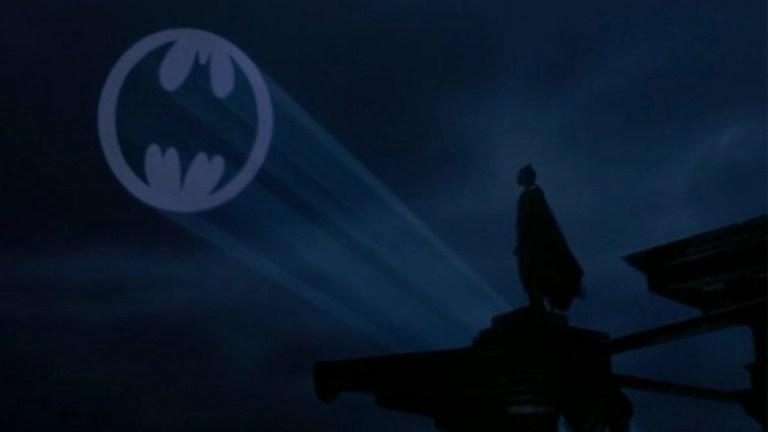 Batman in una scena del film - Batman (1989)