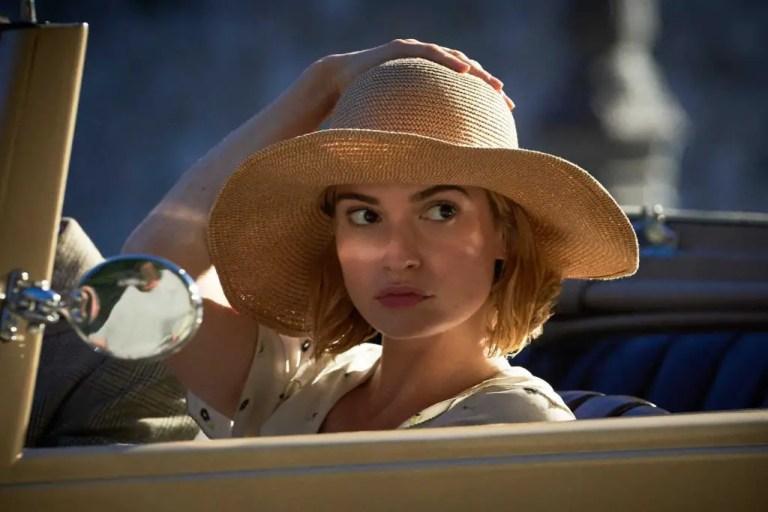 Lily James in Rebecca 2020