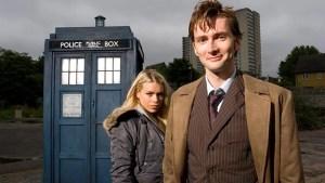 Il Dottore (David Tennant) e Rose (Billie Piper) - Doctor Who